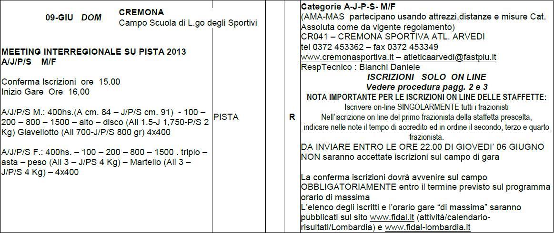 Fidal It Calendario.Fidal Lombardia Calendario